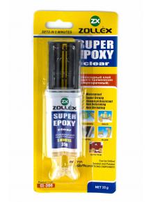 Клей эпоксидный Zollex Super Epoxy Clear - фото №1 Аромадим