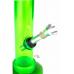 Бонг акриловый MIX Green - H:20.3 cm - D:40 cm  - фото №2 Аромадим