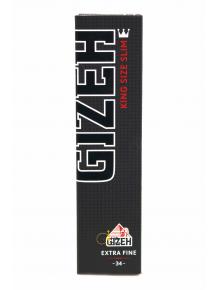 Бумага для самокруток Gizeh | King Size Slim Extra Fine L: 107mm - фото №1 Аромадым