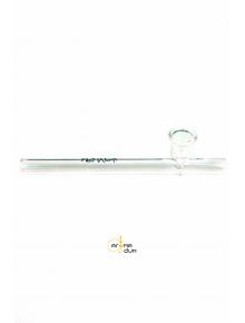 Трубка стеклянная Kawum Spiral- L:17cm - фото №1 Аромадым