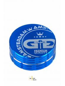 Гриндер Dope Bros-Amsterdam Blue - 4 Part - D:20mm - фото №1 Аромадим