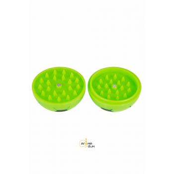 Гриндер акриловый «FOOTBALL» Green - D:56 mm