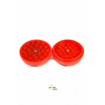 Гриндер акриловый «FOOTBALL» Red - D:56 mm