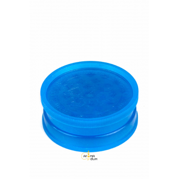 Гриндер акриловый 2 part Glows in the Dark Blue - D:35 mm - фото №1 Аромадим