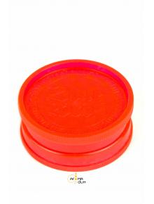 Гриндер акриловый 2 part Glows in the Dark Red - D:35 mm - фото №1 Аромадим