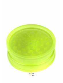 Гриндер акриловый 2 part Glows in the Dark Green - D:35 mm - фото №1 Аромадим