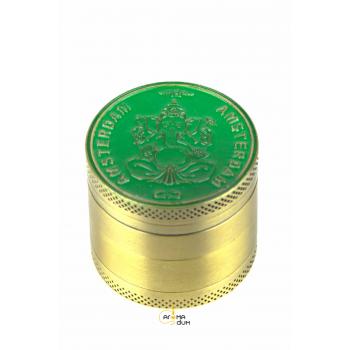 Гриндер Grace Glass Amsterdam with Ganash and OM Green - D: 37mm - фото №1 Аромадим