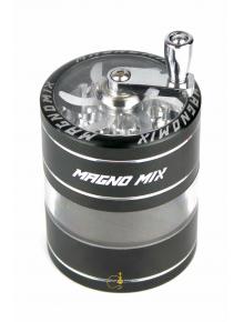 Гриндер Magno Mix Crank and Window - 4part Black- D:62mm - фото №1 Аромадим