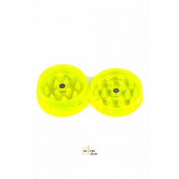 Гриндер акриловый Amsterdam 3part Leaf logo Yellow