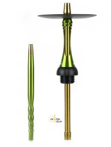 Шахта Alpha Hookah Model S Replica Green - фото №1 Аромадим