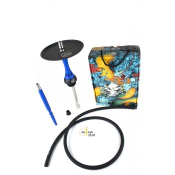 Шахта Alpha Hookah Model X Blue Matt