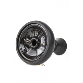 Кальян Kaya ELOX 30CМ Clear Alum Plug Black 2S