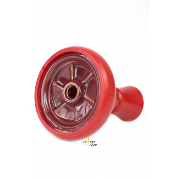 Кальян Kaya ELOX 30CМ Clear Alum Plug Red 2S