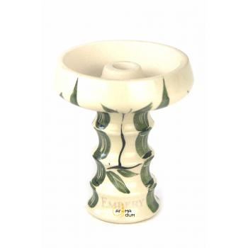 Чаша для кальяна Embery JS-Funnel Bowl Partially Glased White Bamboo - фото №1 Аромадым