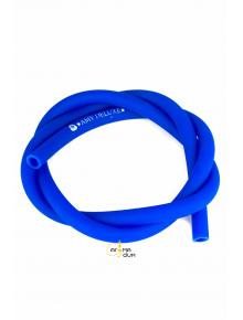 Шланг силиконовый Amy Soft Touch Blue - фото №1 Аромадым