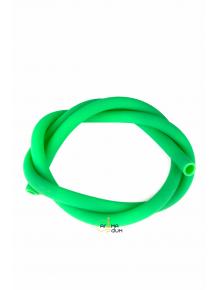 Шланг силиконовый Yahya  матовый Green - фото №1 Аромадым