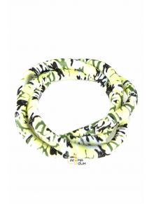 Шланг силиконовый Камуфляж Green - фото №1 Аромадым