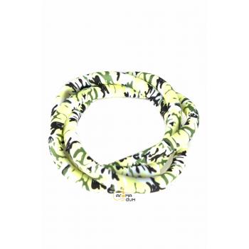 Шланг силиконовый Камуфляж Green - фото №1 Аромадим
