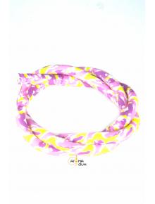 Шланг силиконовый Камуфляж Pink - фото №1 Аромадым