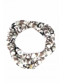 Шланг силиконовый Камуфляж Silver - фото №1 Аромадым