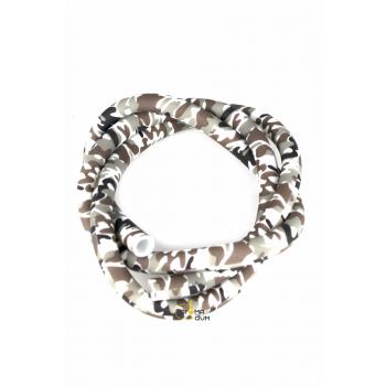 Шланг силиконовый Камуфляж Silver - фото №1 Аромадим