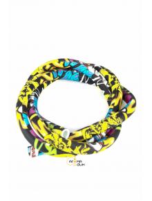 Шланг силиконовый Разноцветный - фото №1 Аромадым
