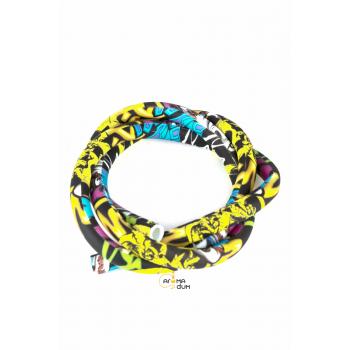 Шланг силиконовый Разноцветный - фото №1 Аромадим