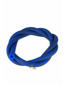Шланг силиконовый Черепа Blue - фото №1 Аромадым