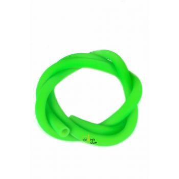 Шланг силиконовый Amy Soft Touch Green - фото №1 Аромадым