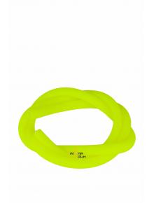 Шланг силиконовый Amy Soft Touch Yellow - фото №1 Аромадым