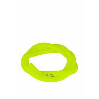 Шланг силиконовый Amy Soft Touch Yellow - фото №1 Аромадим