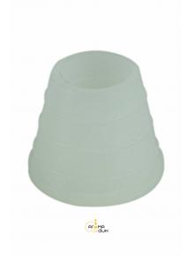 Уплотнитель силиконовый под чашу Белый - фото №1 Аромадым