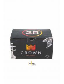 Уголь кокосовый для кальяна Crown 1 кг - фото №1 Аромадим