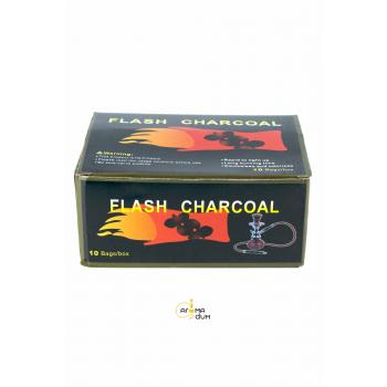 Уголь саморазжигающийся Flash Charcoal